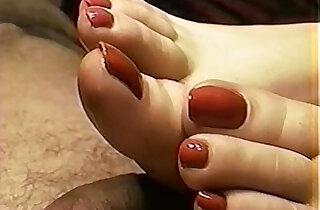 Cailleach Mara Red Nail Toejob Footjob xxx tube video
