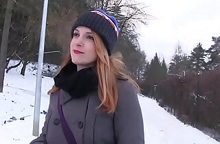 Public Agent Inked ginger Irina Vega earns cash for fucking xxx tube video