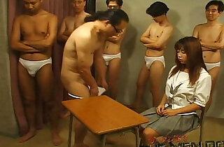 Bukkake Highschool Lesson Japanese blowjob xxx tube video