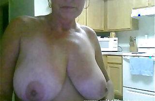 Solo of sex addicted Granny from Australia xxx tube video
