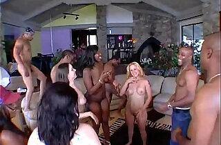 Big Phat Wet Ass Orgy xxx tube video