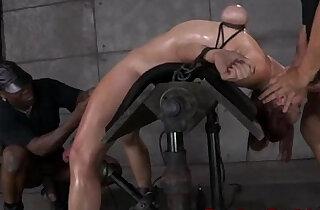 Breast bondage sub bent backwards xxx tube video