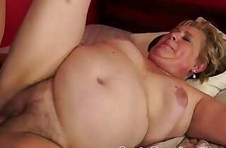 Fat granny screwed in missionary position xxx tube video