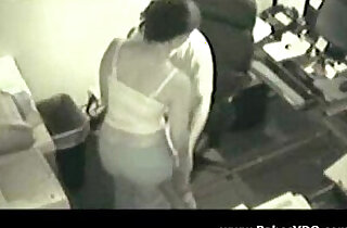 Boss Fucking her Secretary Spy Cam xxx tube video