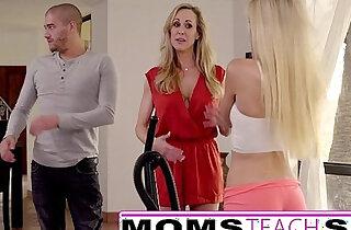 Moms Teach Sex Big tit mom catches daughter xxx tube video