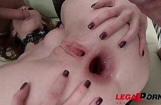 Halloween treat! Linda Sweet triple anal TAP with two guys xxx tube video