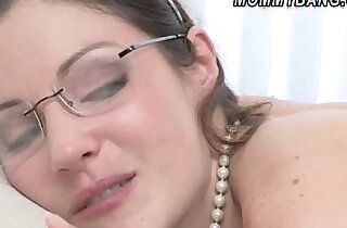 Chloe Foster introduces to a hard cock with stepmom Samantha Ryan xxx tube video