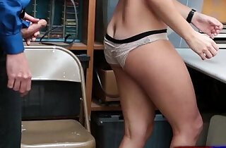Geneva King made to fuck in front of dad to avoid jail time xxx tube video