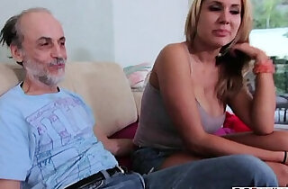 Alanah Rae Dirty Old Man Lucks xxx tube video