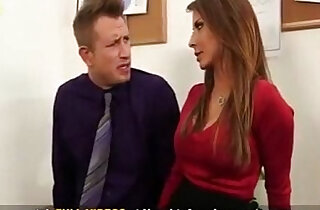 Madison Ivy Busty Secretary gets tit fucked by her bosses big cock on office desk xxx tube video
