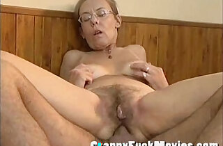 Old granny gets fucked deep and hard in her hairy ass xxx tube video