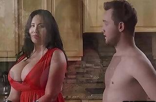 Hot milf Sybil Stallone suck Van Wylde deep throat xxx tube video