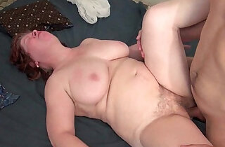 Chubby with tits and hairy pussy his ass fucked xxx tube video