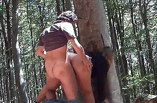 Italian Fucking Outside In The Woods xxx tube video