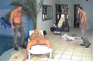 Pool Guys Fucks Blonde xxx tube video