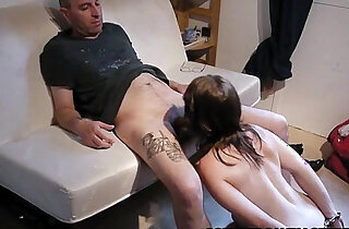 soumise sandy french libertine bdsm gagging with handcuff xxx tube video