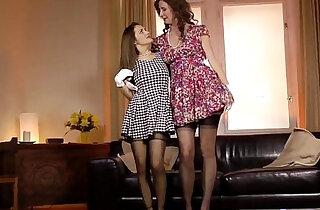 Stockings milf pussylicking glamour lesbian xxx tube video