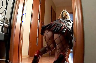 Pigtailed Blonde Carolina Has Her Dildo In Her Pussy xxx tube video