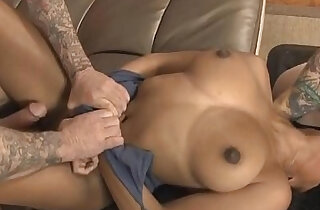 Black Whore Ivy Young Taking On White Dink On Couch xxx tube video