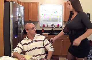Madisin lee in milf mom helps son with his term paper blue balls xxx tube video