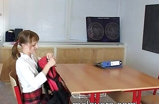 Sian And Hery barely legal teens sex in school classroom xxx tube video