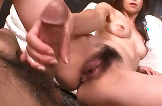 Maki Hojo rides cock and swallows fresh jizz xxx tube video
