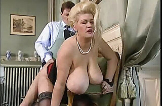 Big tit blonde BBW gets good fucking xxx tube video