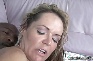 Blonde MILF Kelly Leigh rides a stiff black big cock xxx tube video