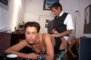 Nasty German Secretaries Doing Their Duties Well xxx tube video