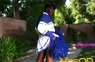 ebony cheerleaders xxx tube video