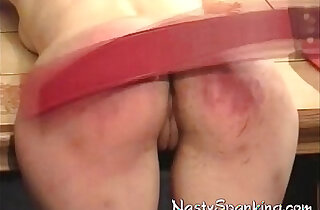 Ass raw and red spanked xxx tube video