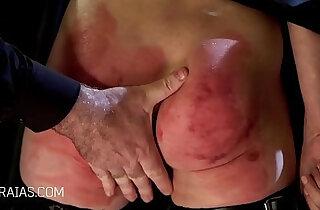 Blonde slave broken in xxx tube video