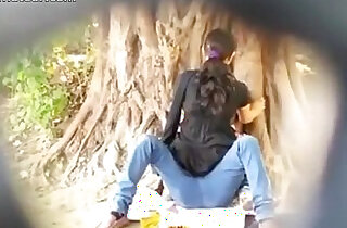 Spying on Indian Couple caught fucking in Park xxx tube video