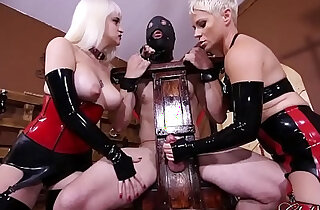 ClubDom Mistress Whip And Cane Before Milking xxx tube video