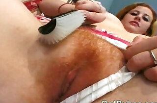 Hottie taking cocks in her hairy cunt xxx tube video