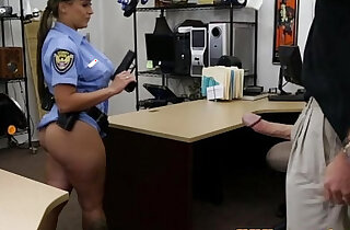 Uniform pawnshop slut dicksucking for cash xxx tube video