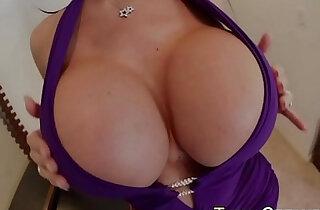 Bigtits cougar jizz pov xxx tube video