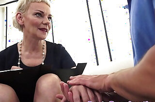 Euro matures hairypussy fucked and jizzed xxx tube video