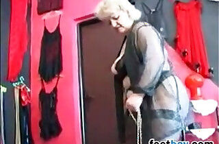 Granny Gets Feet Worshipped By A Slave xxx tube video