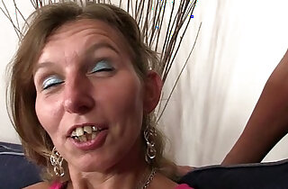 She watches her old mom gets double fucked xxx tube video