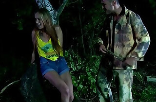 Slave whipped outdoors by rough master xxx tube video