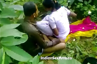 Young couple fucking whore in India forest new xxx tube video