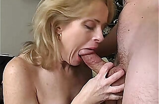 Very sexy mature babe loves a sticky facial cumshot xxx tube video