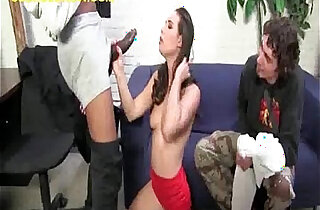 His Brunette ex Girlfriend Sucks Black hard long Cock xxx tube video