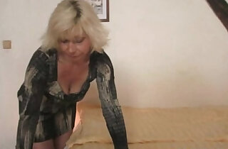 Blonde mother in law seduces me into sex xxx tube video