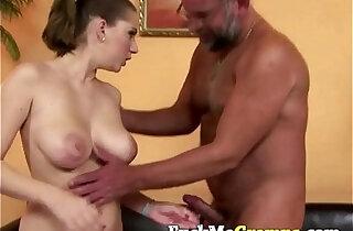 Alice sucking old big dick xxx tube video