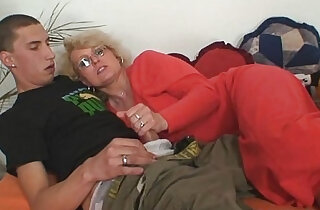Naughty mother inlaw takes him xxx tube video