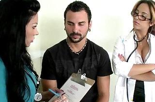 CFNM nurse Mason Moore gets jizz xxx tube video