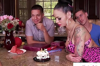 Busty Angelina Valentine eagerly gagging xxx tube video