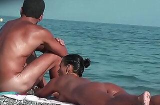Nude Horny lesbian Milfs Big Ass Voyeur Beach Spycam Hidden Video xxx tube video